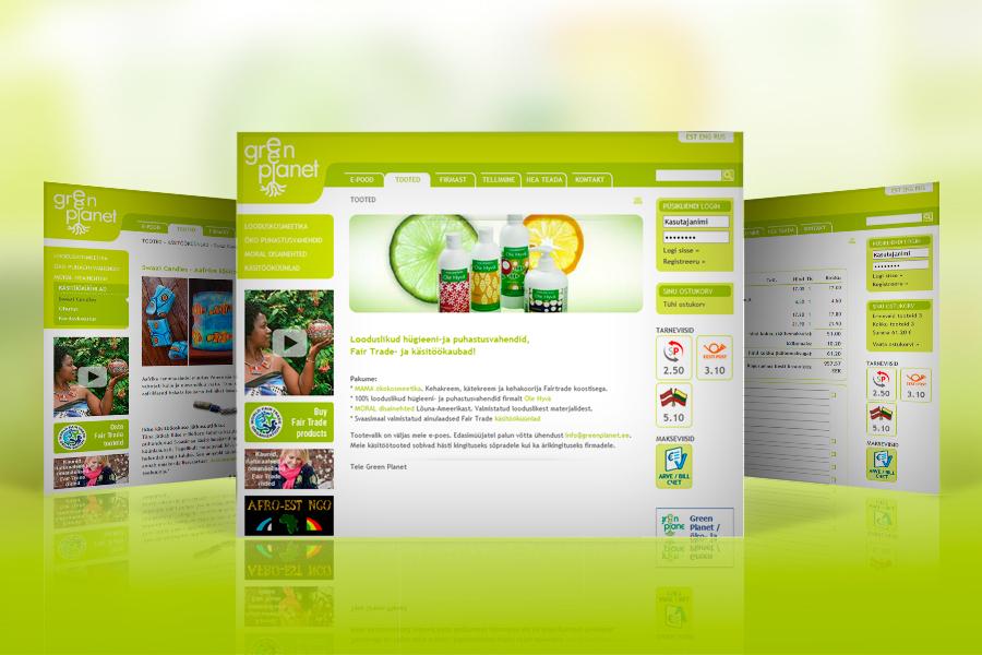 Green Planet | veebileht