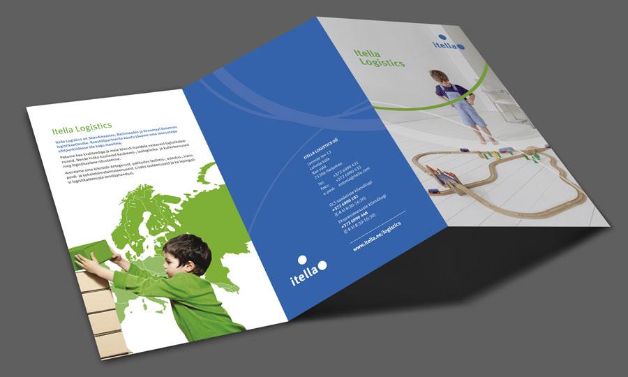Itella Logistics | tutvustav trükis