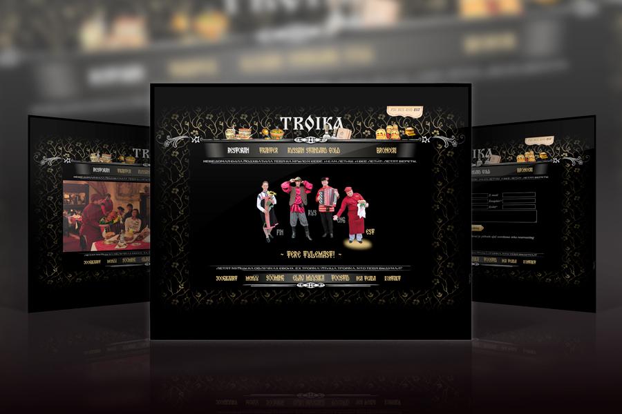 Restoran Troika veebileht